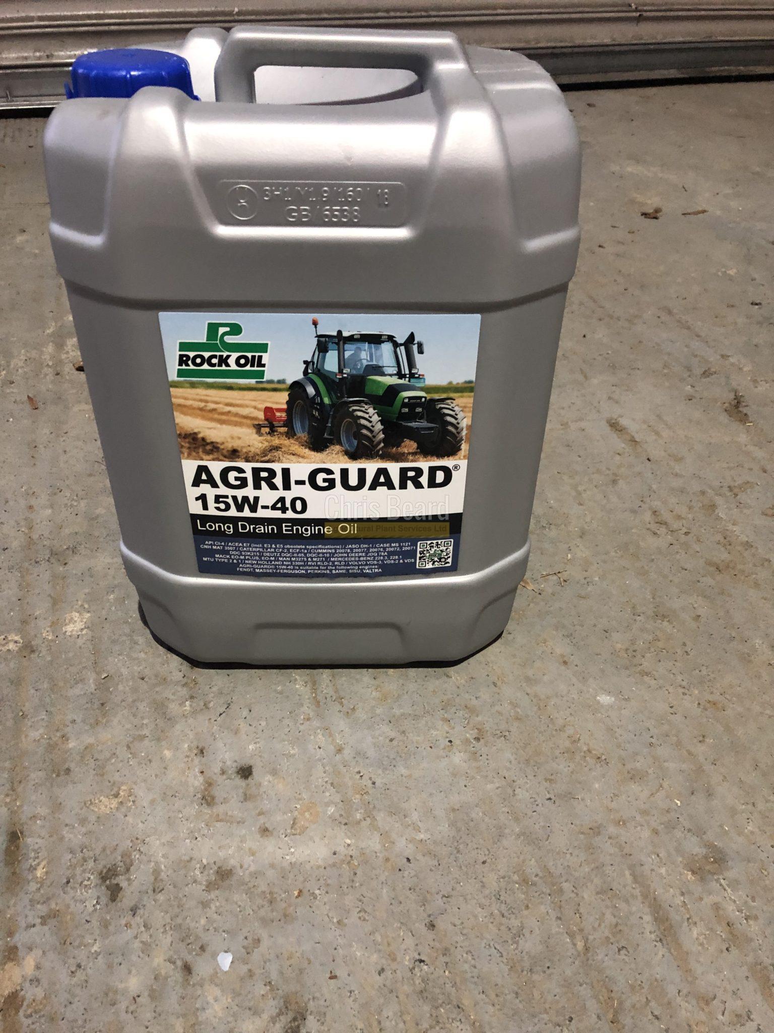 Rock Oil Agri-Guard 15W 40 Engine Oil