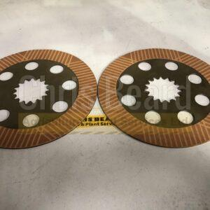 Friction & Counter Plates